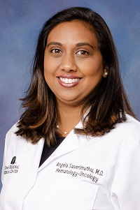 Angela Saverimuthu, M.D.