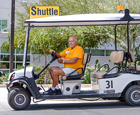 Volunteer Cart Driver