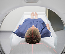 Patient Receiving CT Scan
